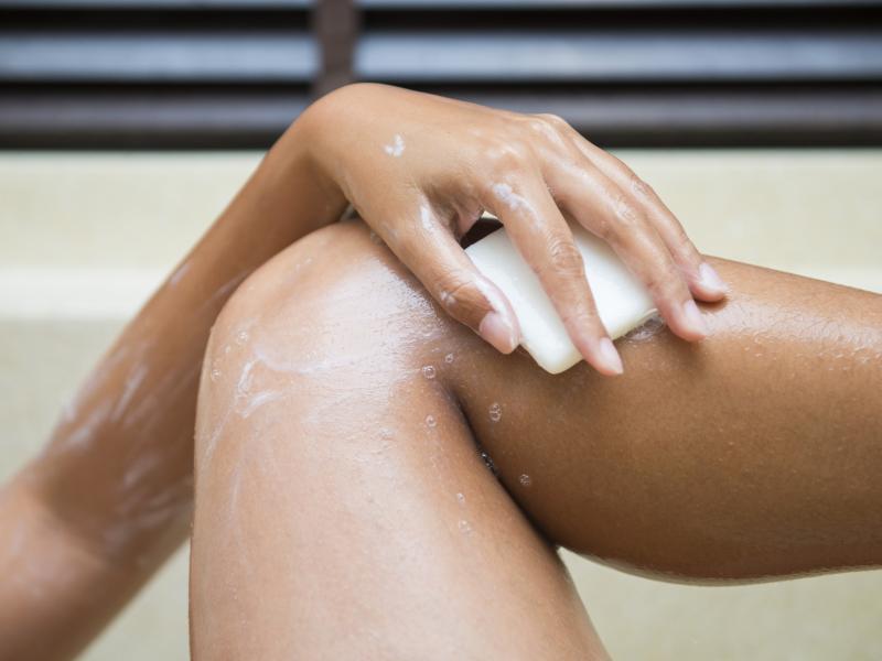 Czy wiedziałyście, że stworzono specjalne mydło do DEPILACJI?