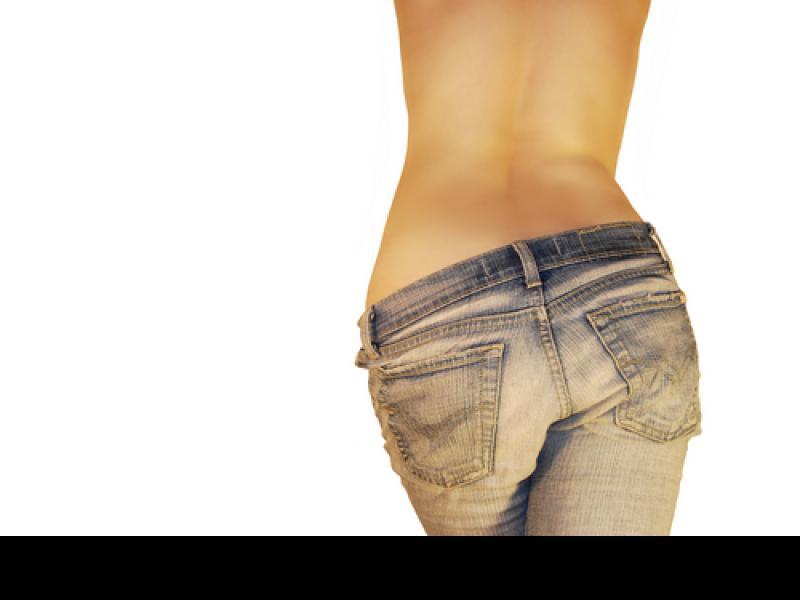 Czy wiesz jak optycznie zmniejszyć za dużą pupę?