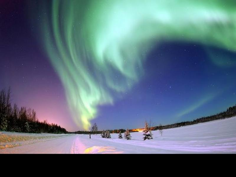 Czy wiesz jak powstają zorze polarne?