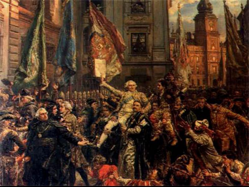 Czy wiesz, że Konstytucja 3. Maja była trzecią z kolei konstytucją na świecie?