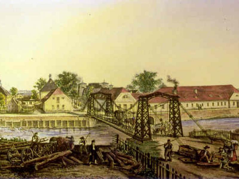 Czy wiesz, że najstarszy żelazny most w Europie znajduje się na Opolszczyźnie?