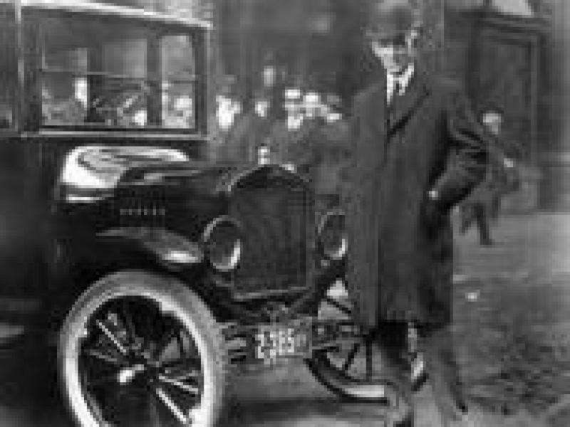 Czy wiesz, że producent samochodów Henry Ford popierał nazizm?
