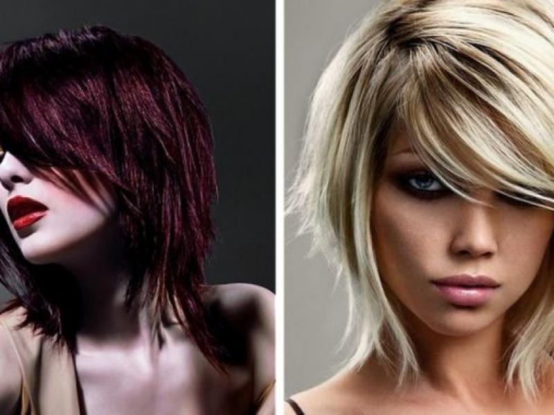 Cięcie Warstwami Trendy Fryzjerskie 2011 Fryzury Polkipl
