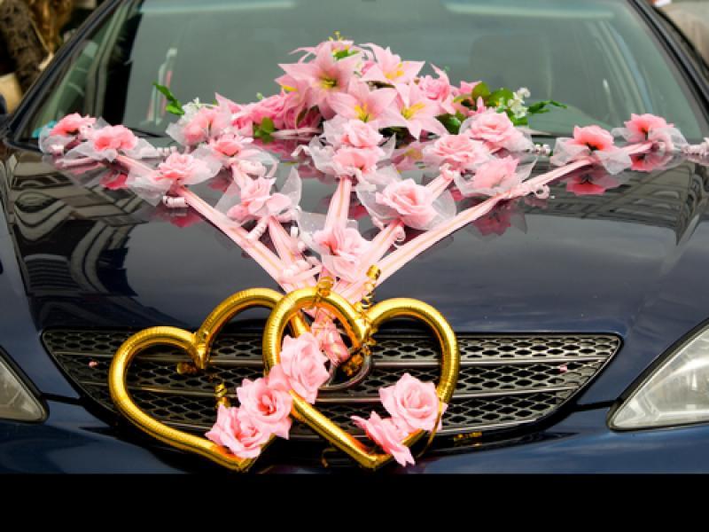 Dekoracje Kwiatowe Samochodu Do ślubu Galeria Organizacja I