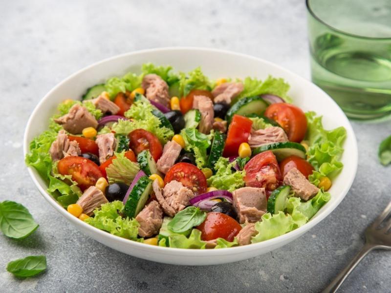 dieta na cholesterol sałatka
