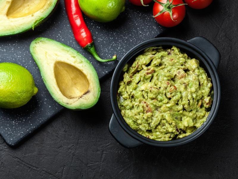 dieta niskoweglowodanowa guacamole