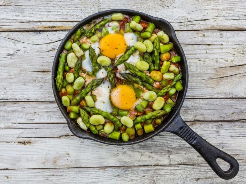 dieta niskowęglowodanowa przepis na jajka