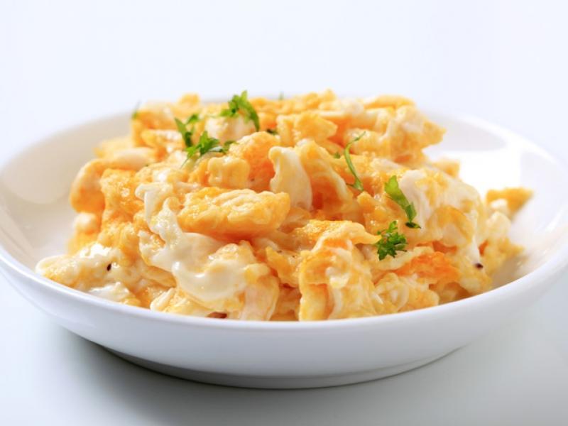 Dietetyczna jajecznica