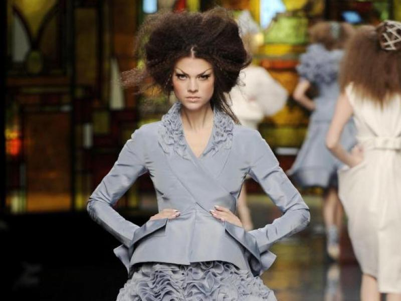 Dior haute couture 2009 (video)