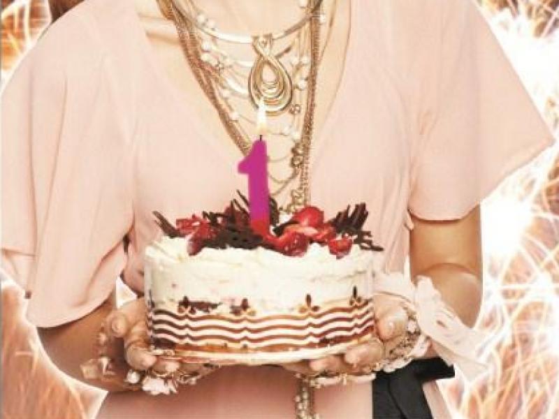 diva rozdaje prezenty na urodziny