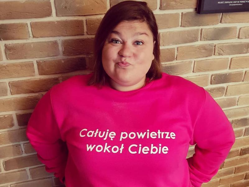 """Dominika Gwit pokazała, co potrafi, mimo swojej wagi. """"Niejedna chuda nie jest tak rozciągnięta!"""""""