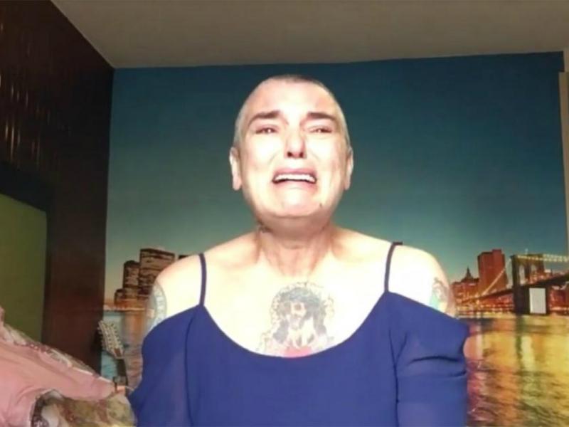 """Dramat Sinead O'Connor: """"Jestem zupełnie sama, walczę o każdy dzień"""". Artystka nagrała przejmujące wideo - wołanie o pomoc"""