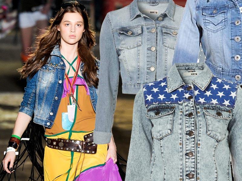 Dżinsowe kurtki na lato 2012