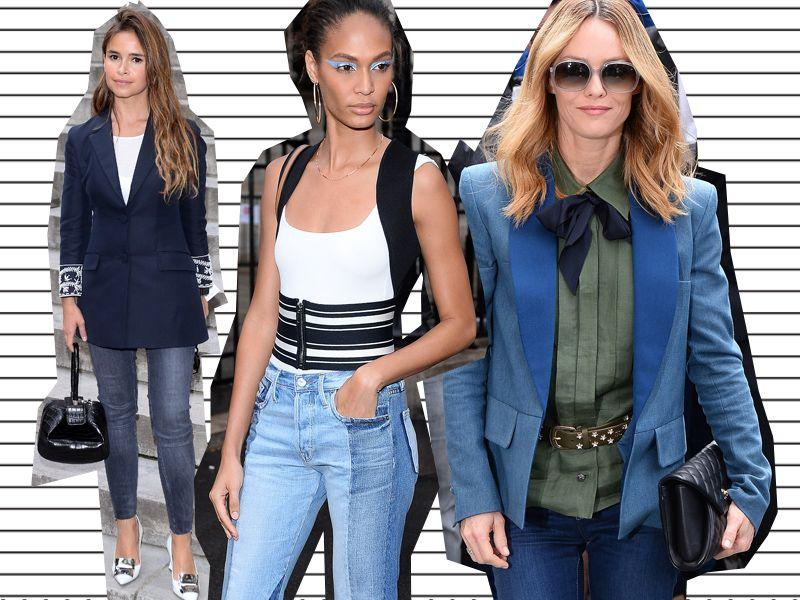 Dżinsy na pokazach haute couture - jak stylizują je gwiazdy?
