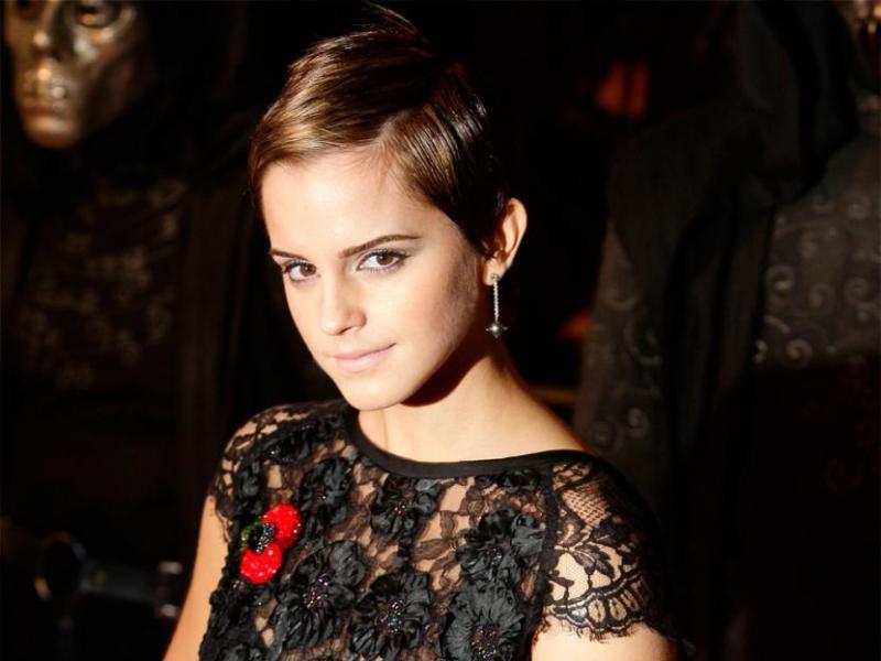 Emma Watson: długie vs. krótkie włosy
