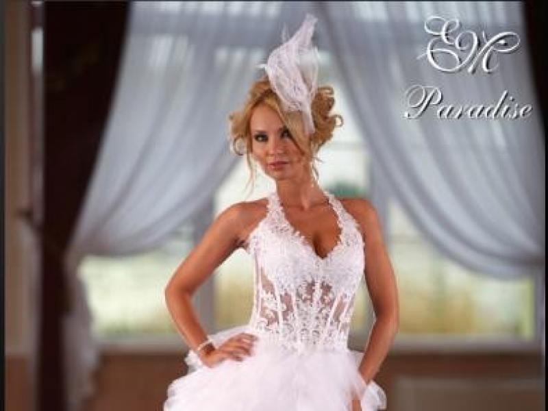 acd552b4b0 EMMI MARIAGE PARADISE 38 BIAŁA - Suknie ślubne - Ogłoszenie - Komis ...