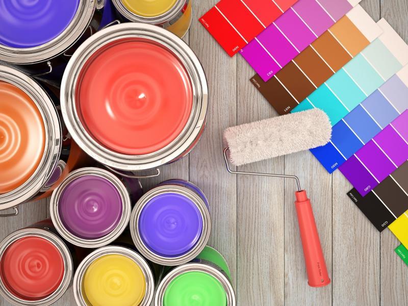 Farby do malowania ścian