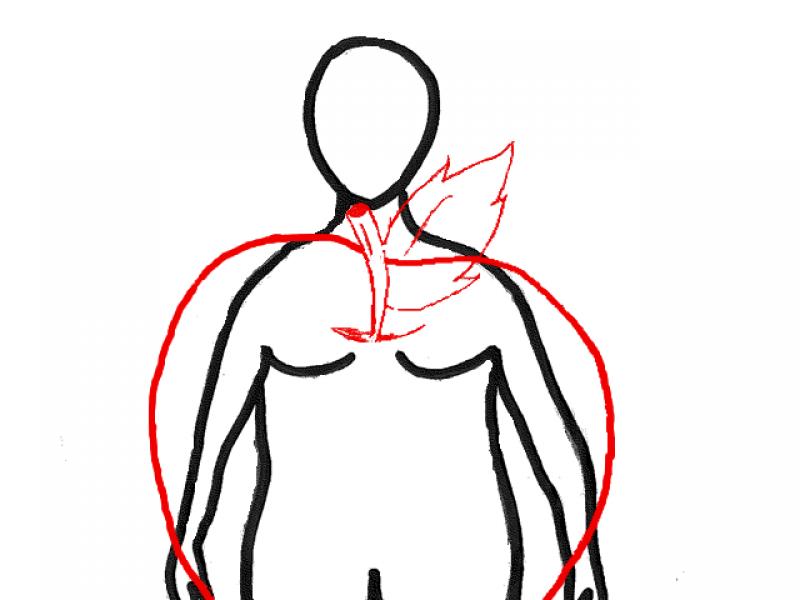 Figura O – jabłko