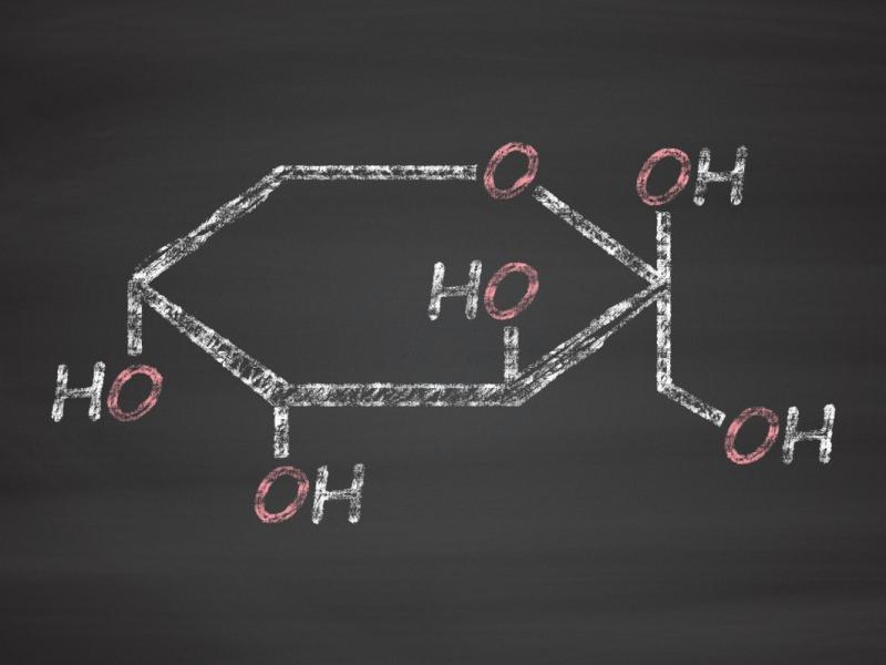Fruktoza - wzór chemiczny