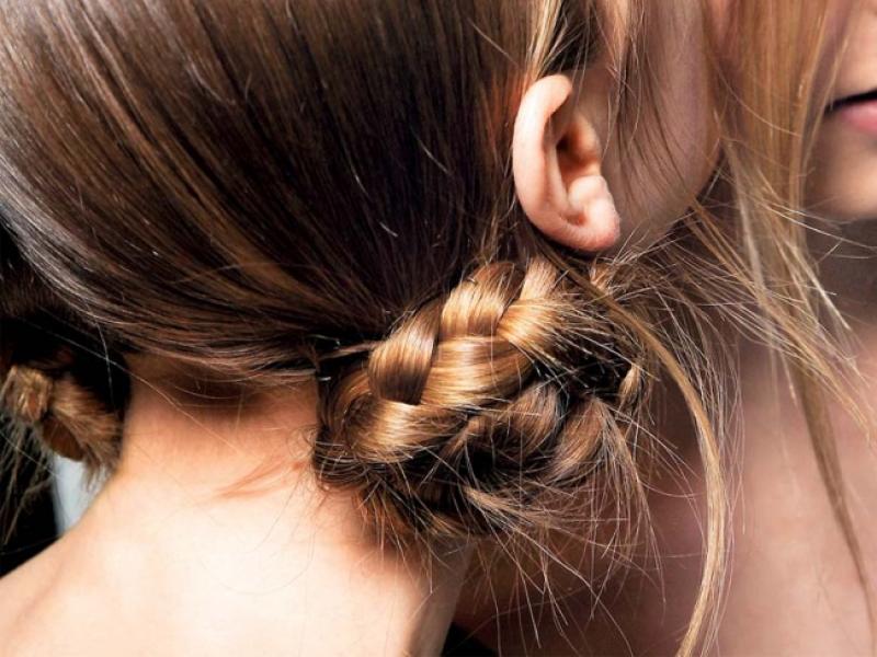 Fryzura na topie: Upięte warkocze