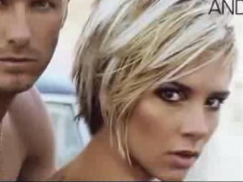 Fryzura w stylu Victorii Beckham (video)