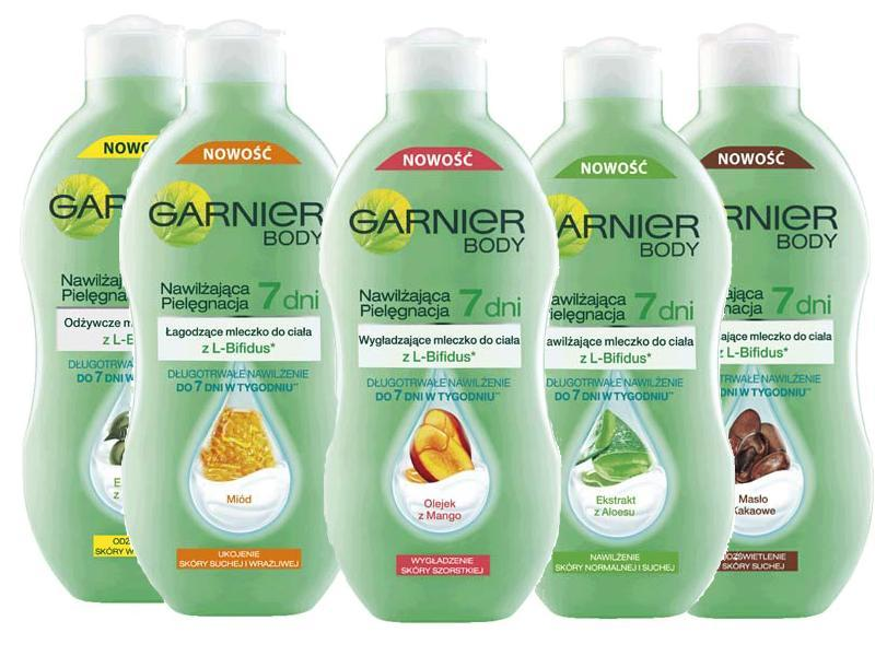 Garnier Body Nawilżająca Pielęgnacja 7 dni