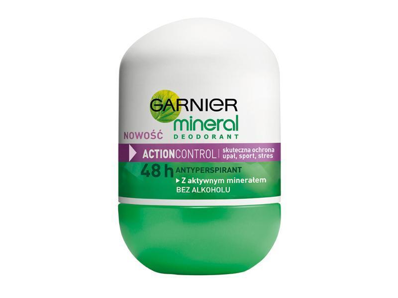 GARNIER MINERAL - rewolucyjna skuteczność dezodorantu!
