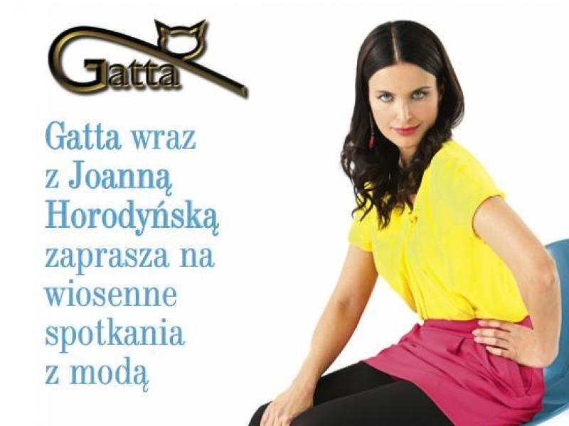Gatta zaprasza na spotkania z Joanną Horodyńską