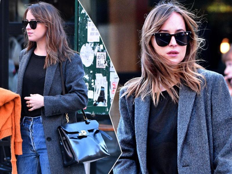 """Gwiazdy """"Pięćdziesięciu twarzy Greya"""" nie zobaczycie już w długich włosach. Zobaczcie, jak teraz wygląda Dakota Johnson!"""