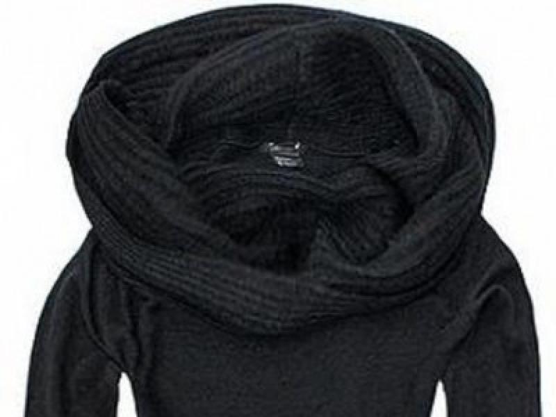 a3e2a54e02219 H&M - czarny sweter golf, rozmiar M, NOWY! - Odzież damska - Ogłoszenie -  Komis, baza ogłoszeń - Polki.pl