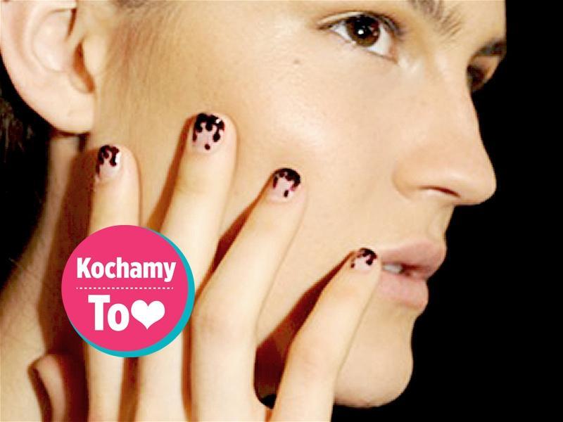 Halloweenowy manicure