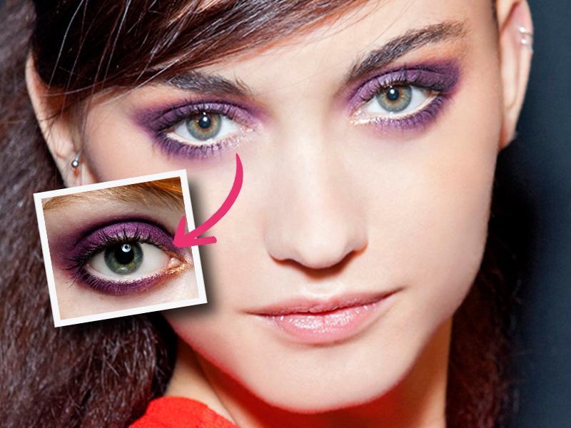 Hipnotyzujący makijaż na karnawał krok po kroku