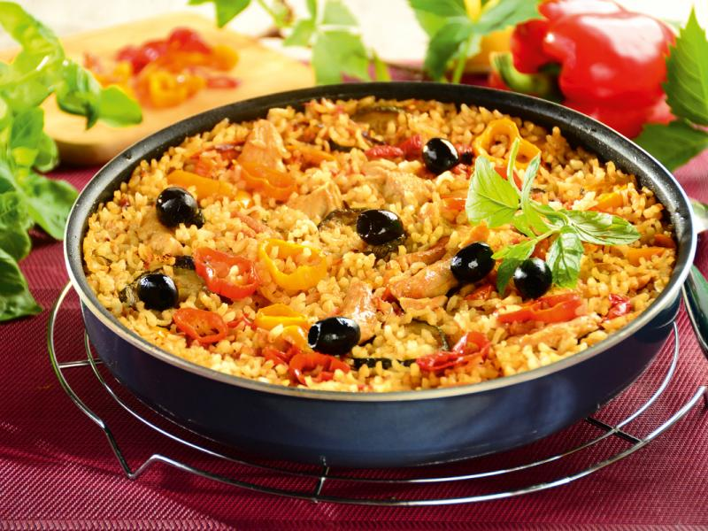 Hiszpańska paella z kurczakiem