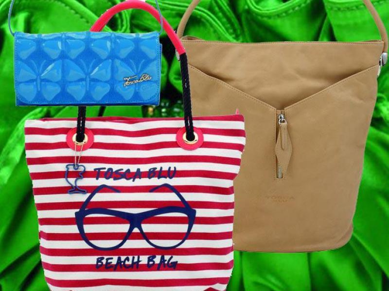 Idealna torebka na wakacje od Tosca Blu