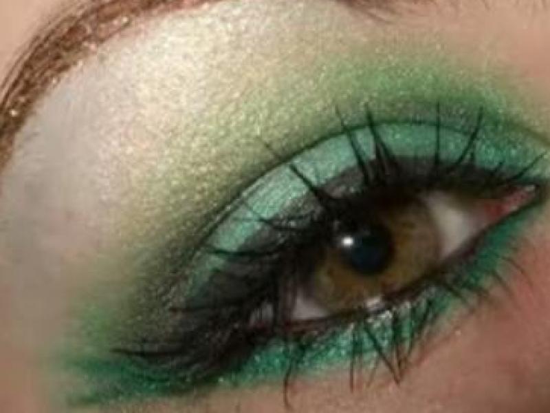 Intrygujący makijaż nimfy (video)