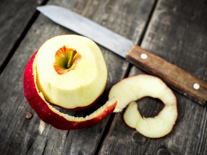 Jabłka z ryżowym farszem