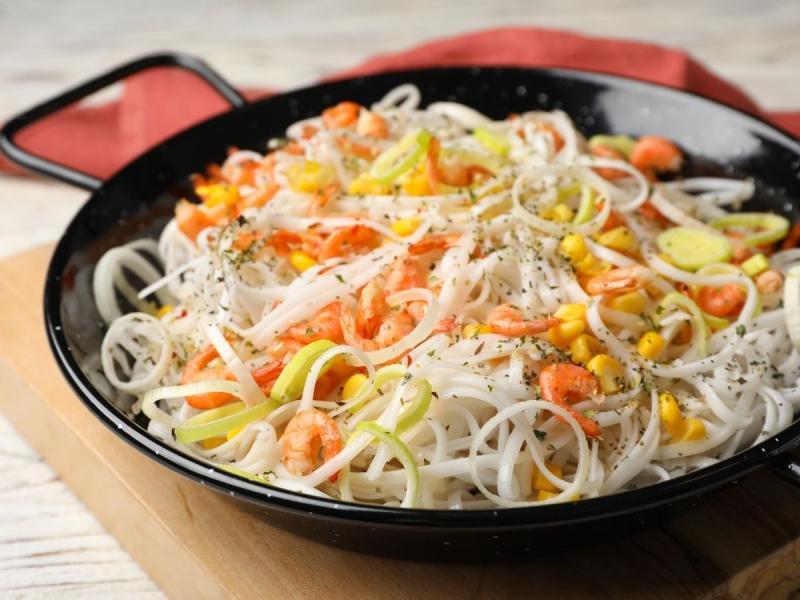 makaron ryżowy po chińsku jadłospis w hashimoto