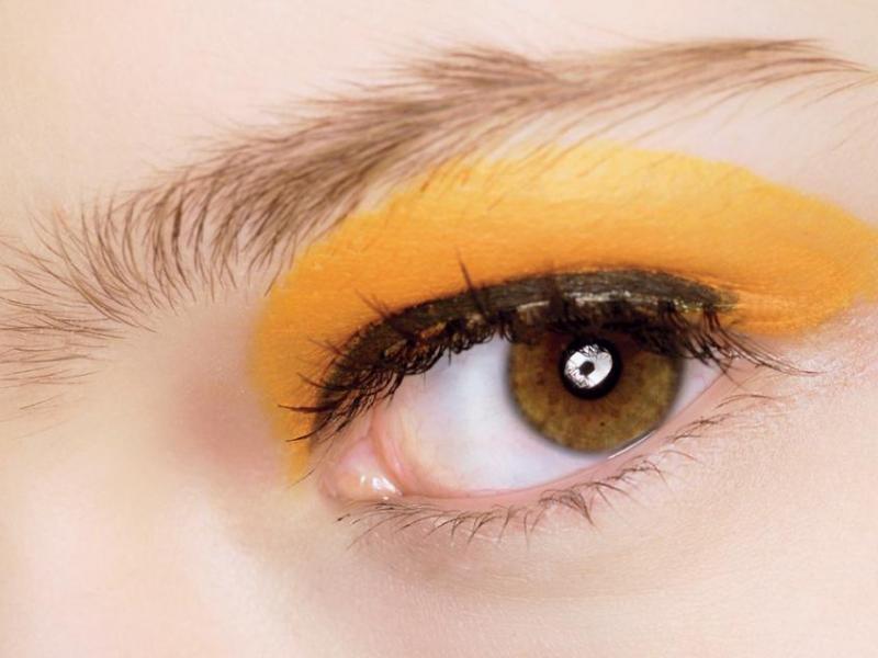 Jak malować oczy latem