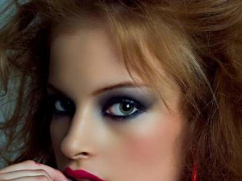 Jak malować oczy osadzone bardzo blisko siebie?