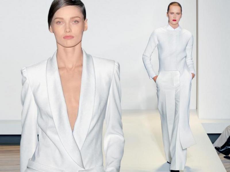 Jak nosić białe ubrania