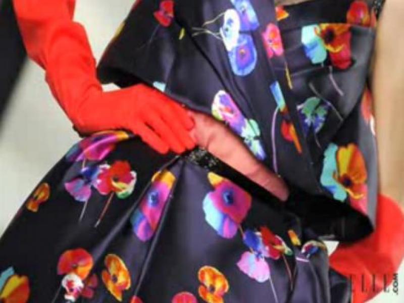 Jak nosić ubrania w kwiaty