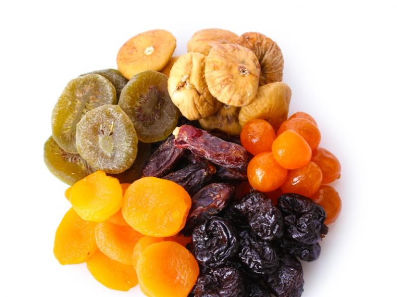 Suszone owoce/fot. Fotolia