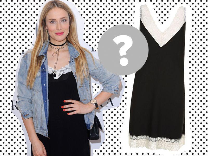 Jak umiejętnie Natalia Klimas stylizuje bieliźnianą sukienkę?