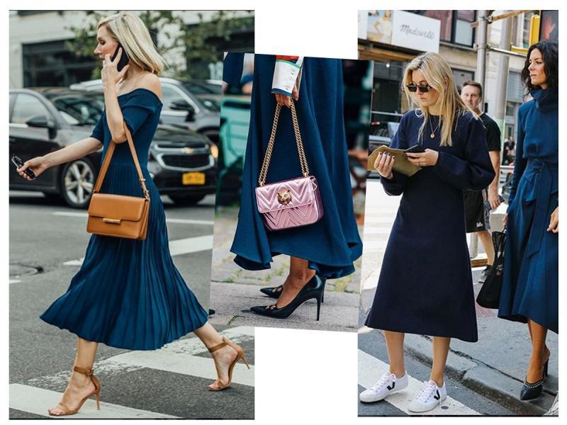 Jaki Buty Pasują Do Granatowej Sukienki Dobierz Fason I Kolor