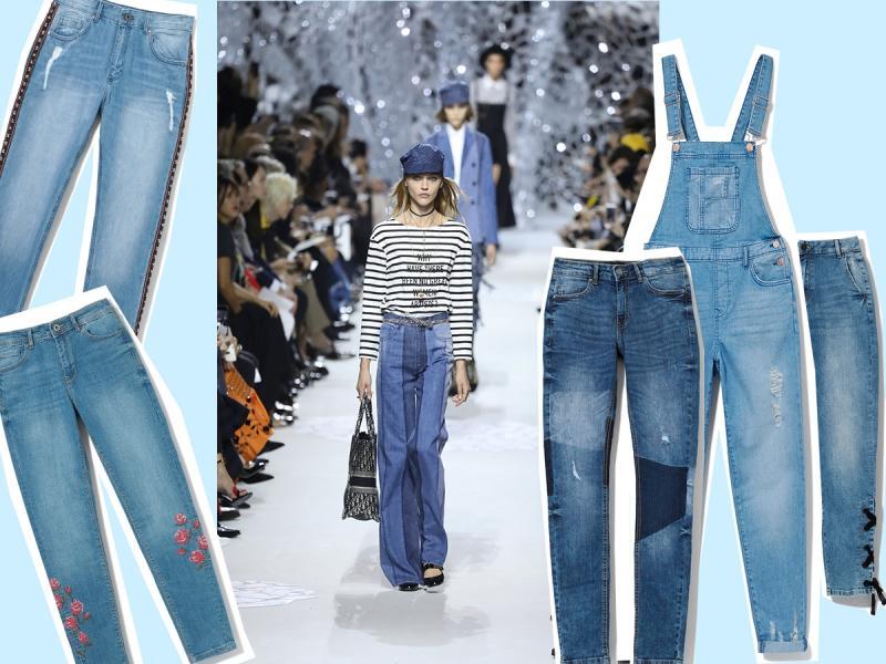 Jakie dżinsy wybrać? Z nogawkami wąskimi czy szerokimi? Z niskim czy wysokim stanem? Sprawdź, które pasują do twojej sylwetki