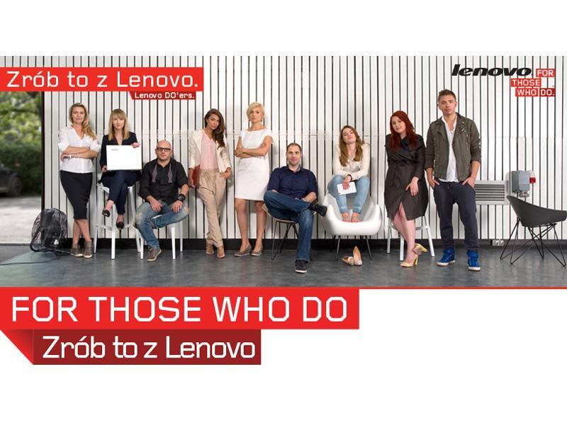 """Jemioł, Popiel i Novika w projekcie """"Zrób to z Lenovo"""""""