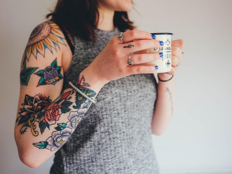 Tatuaż Rękaw Modny I Bardzo Widoczny Czy To Opcja Dla