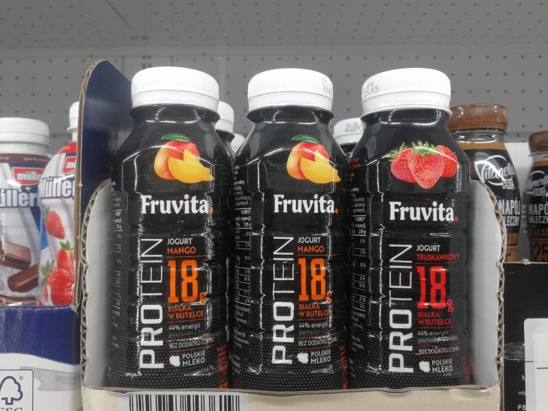jogurt fruvita protein