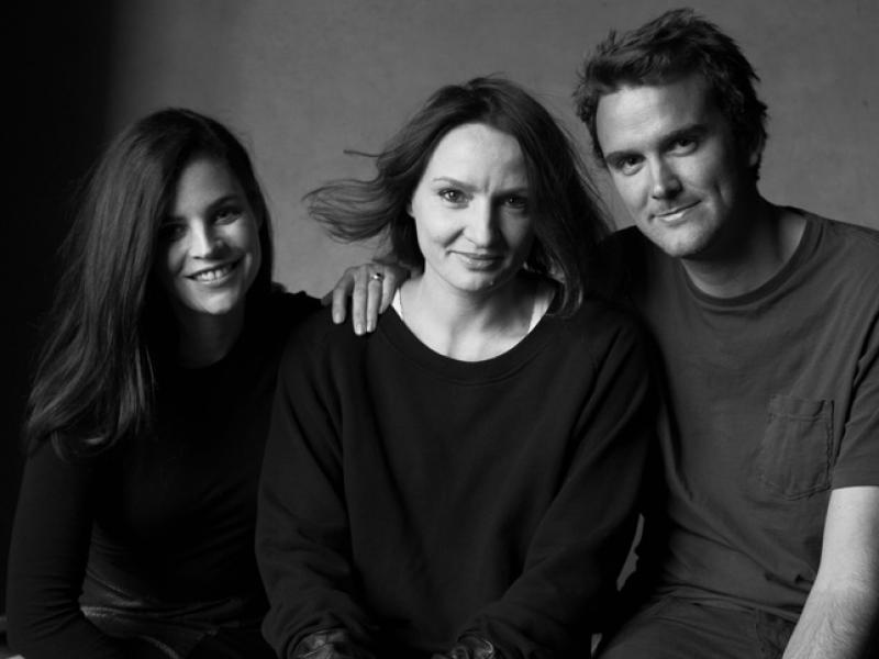 Julia Restoin Roitfeld i Victor Demarchelier na planie sesji dla magazynu Viva! Moda