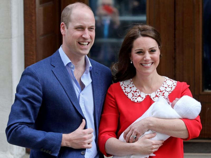 Już wszystko jasne! Podano imię drugiego syna księżnej Kate i księcia Williama